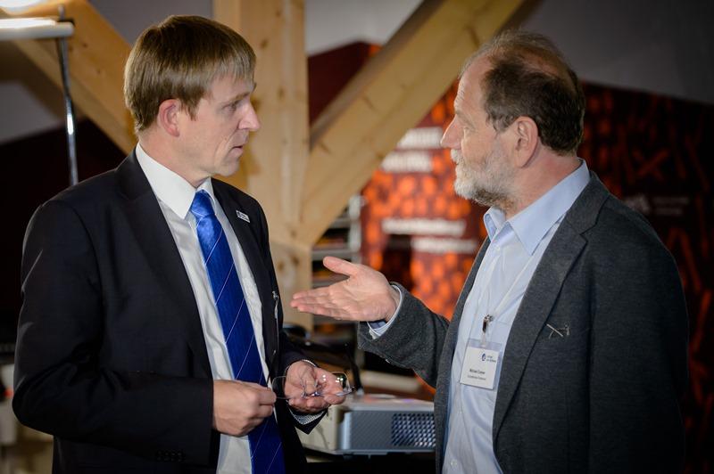 Unser Verkehrsreferent Dr. Andreas Geißler mit Michael Cramer, MdEP