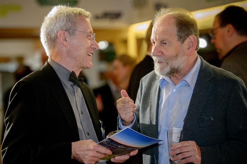Dr. Peter Vollmer (SVS) mit Michael Cramer (MdEP), Keynotespeaker des Abends