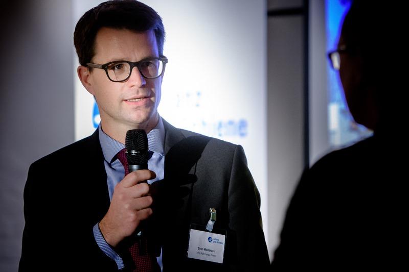 Sven Wellbrock präsentiert die moderne Zugflotte der VTG AG