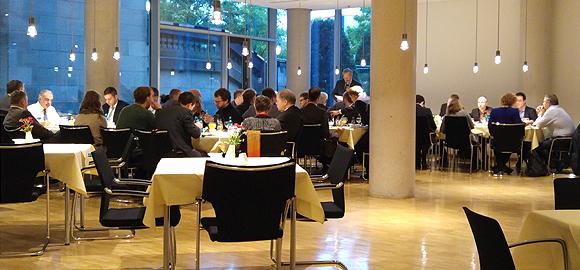 Parlamentarisches Frühstück im Bundestag