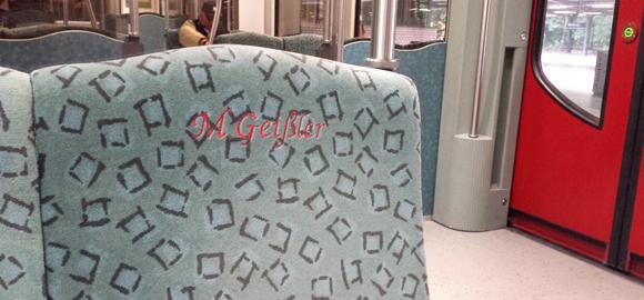 Newsletter 11-16 Sitz S-Bahn