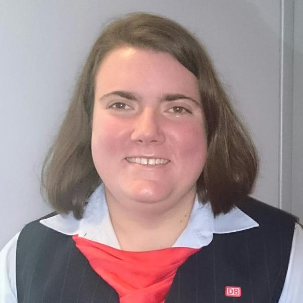 Eisenbahnerin mit Herz: Claudia Conrad vom DB Fernverkehr Kassel