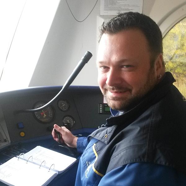 Eisenbahner mit Herz: Der Metronom-Lokführer Maik Freiheit