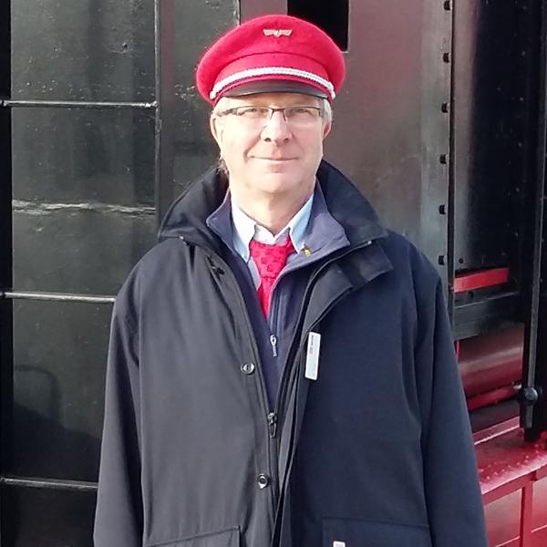 Eisenbahner mit Herz: Wilfried Huhn, DB Station und Service Frankfurt Oder