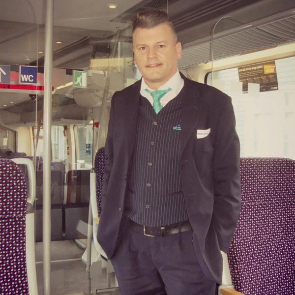 Eisenbahner mit Herz: Daniel Maximilian von der Eurobahn