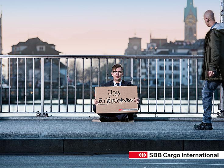 Bewege was! Die SBB Cargo International bietet Jobs als Triebfahrzeugführer / Lokführer an
