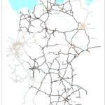 Positivnetz: Auf diesen Straßen darf der Lang-Lkw / Gigaliner fahren.