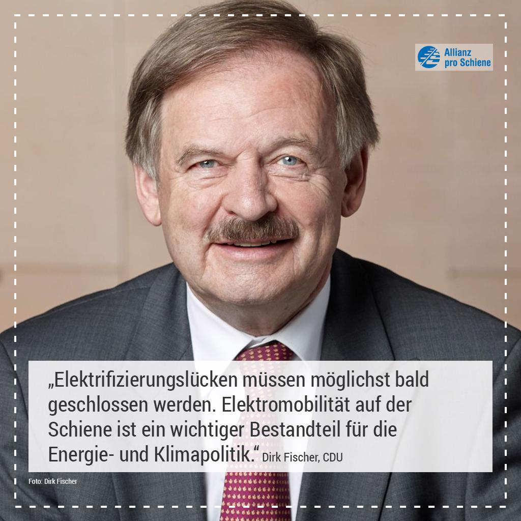 Elektrifizierung Dirk Fischer, CDU