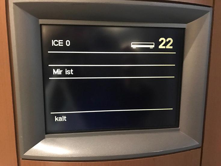 Minustemperaturen: Auch ICE-Züge frieren, Foto: Lina Timm