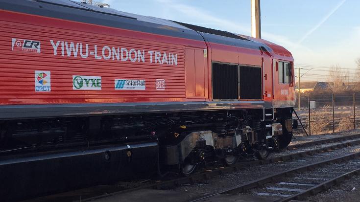 Von Yiwu, China, bis nach Barking in Großbrittanien: Der Güterzug der Interrail Ag