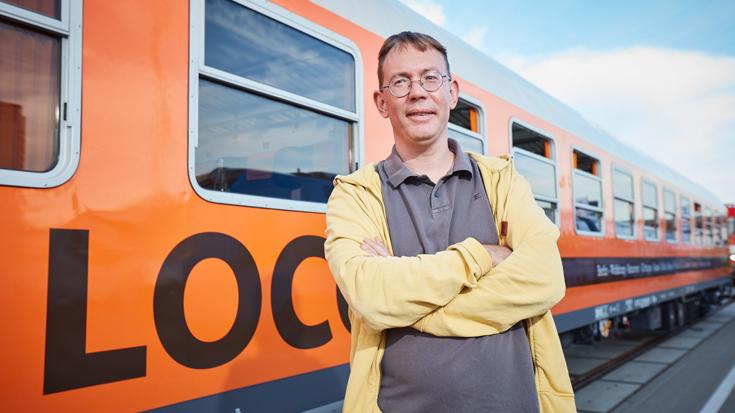 Derek Ladewig, der Gründer von Locomore