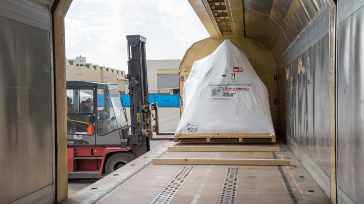 Unterwegs im Kombinierten Verlehr: Der Gleisanschluss der Krones AG im Hauptwerk in Neutraubling