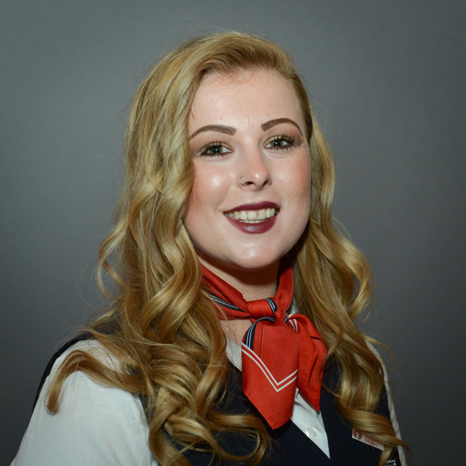 Fährt für die AVG: Eisenbahnerin mit Herz Saskia Schönlebe