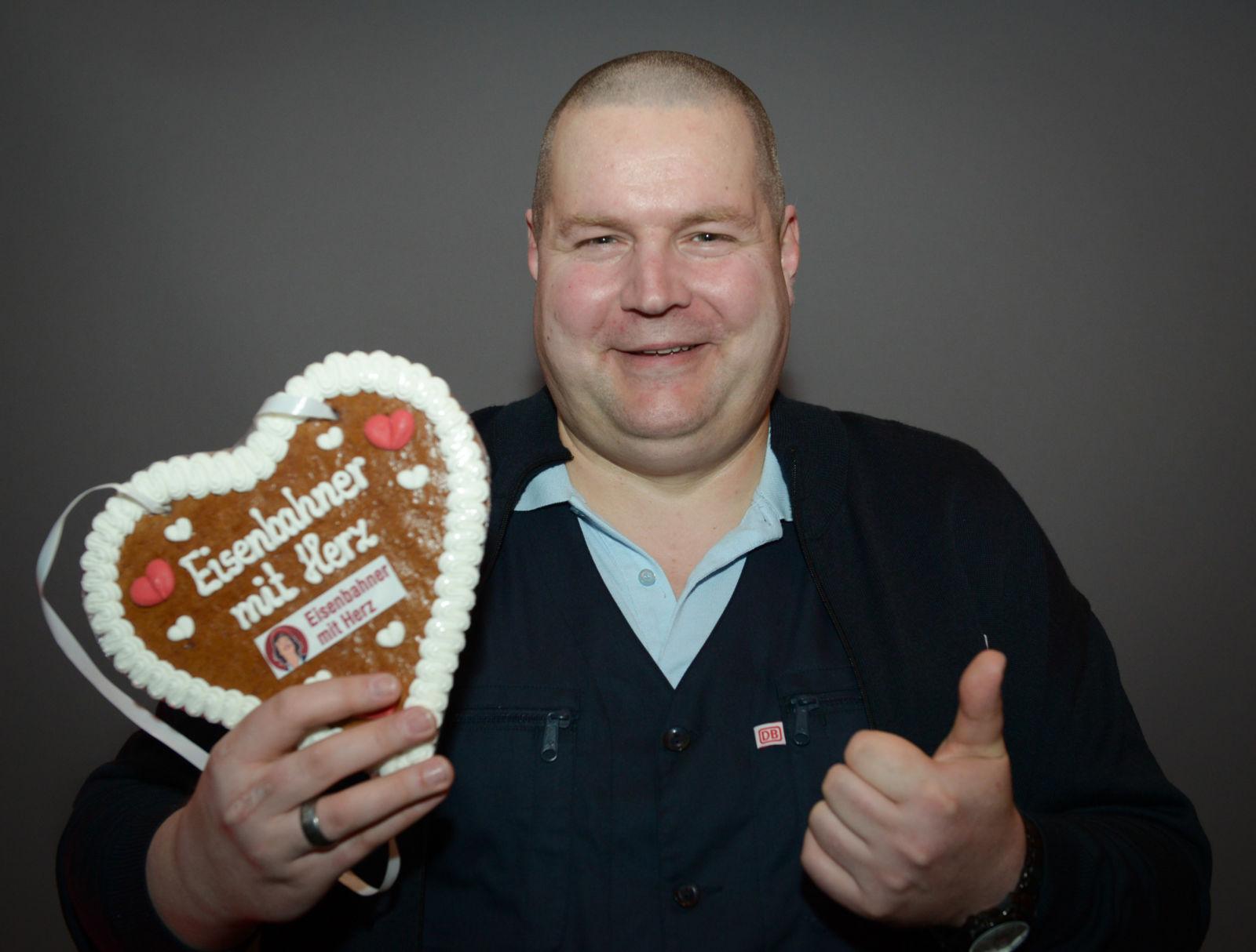 Eisenbahner mit Herz 2017: Sven Krolikowski von der S-Bahn Hamburg