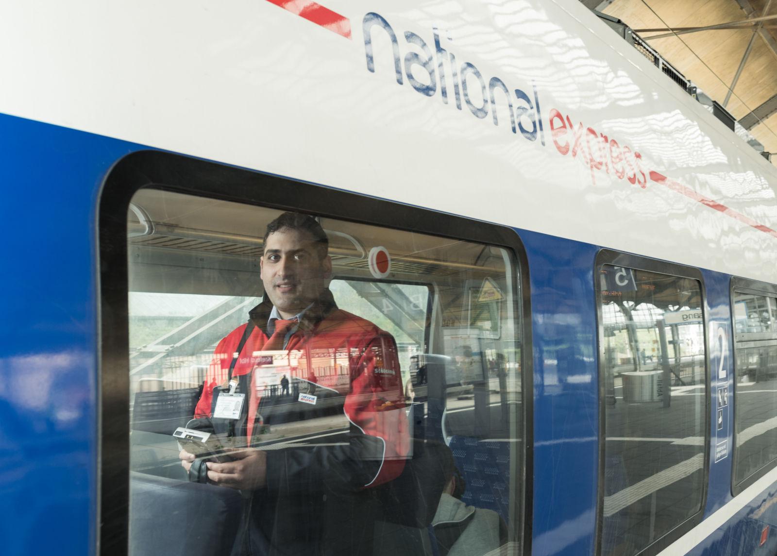 Eisenbahner mit Herz 2017 Sadik Tubay, National Express