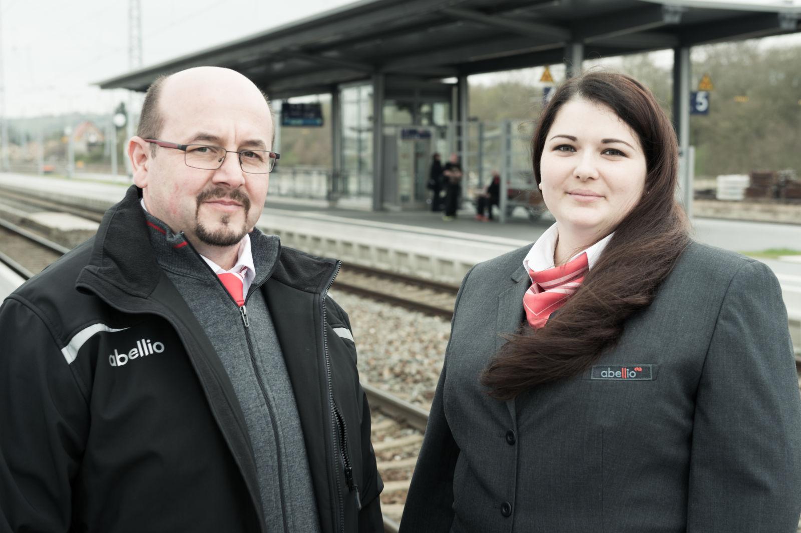 Eisenbahner mit Herz 2017 Dirk Otte und Maria Voigt