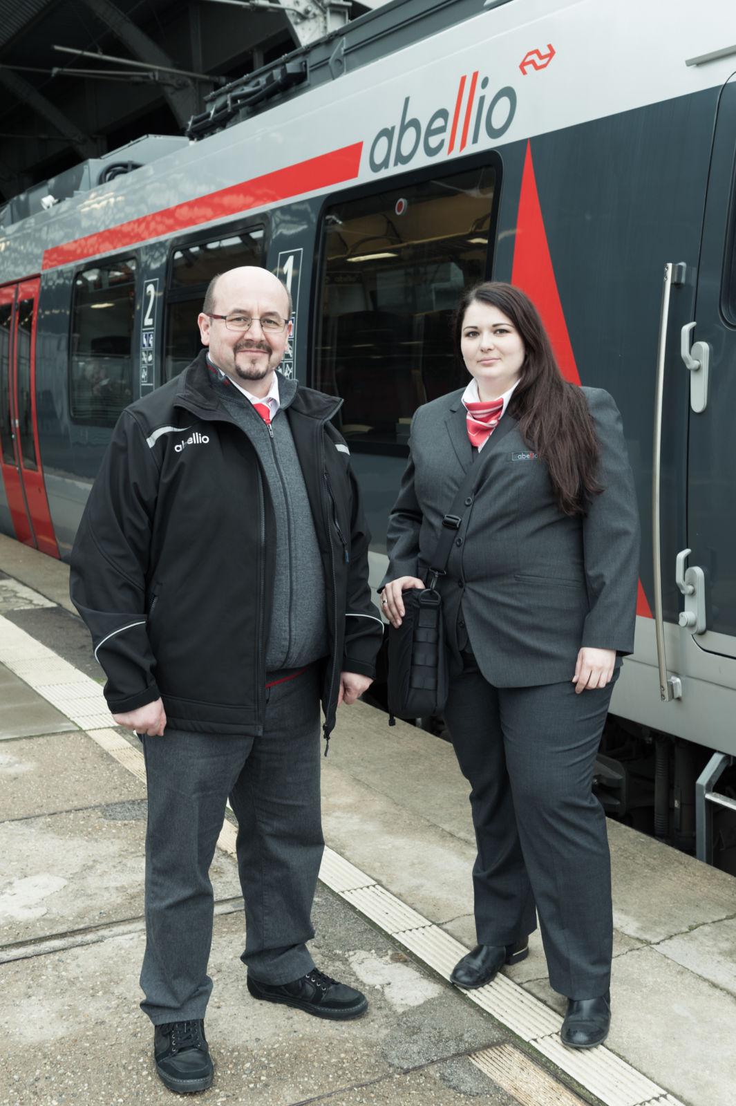 Eisenbahner mit Herz 2017 Dirk Otte und Maria Voigt, Abellio