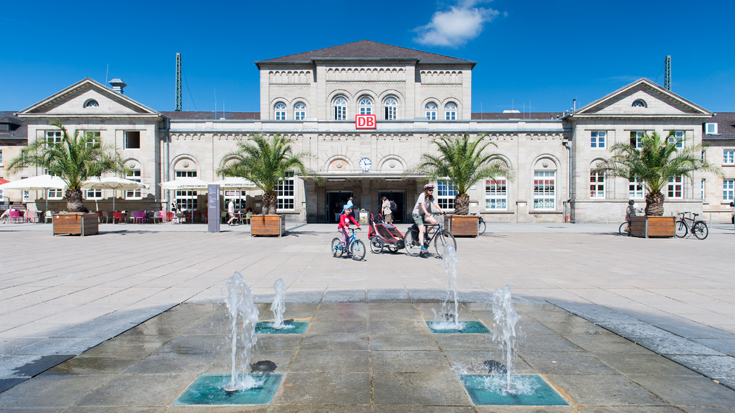 Bahnhof des Jahres 2013: Der Bahnhof Göttingen ist besonders gut für Fahrradfahrer zu erreichen