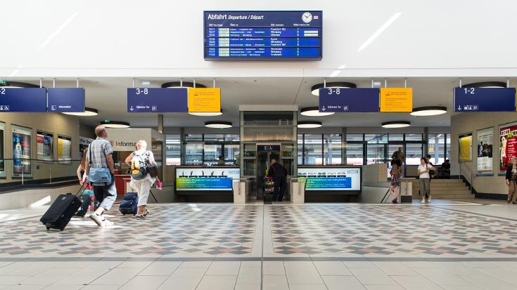 Bahnhof des Jahres 2012: Bahnhof Aschaffenburg / Hauptbahnhof Aschaffenburg