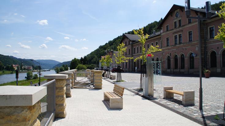 Bahnhof des Jahres 2012 - Sonderpreis Touristik: Bahnhof Bad Schandau, der Nationalparkbahnhof in der Sächsischen Schweiz