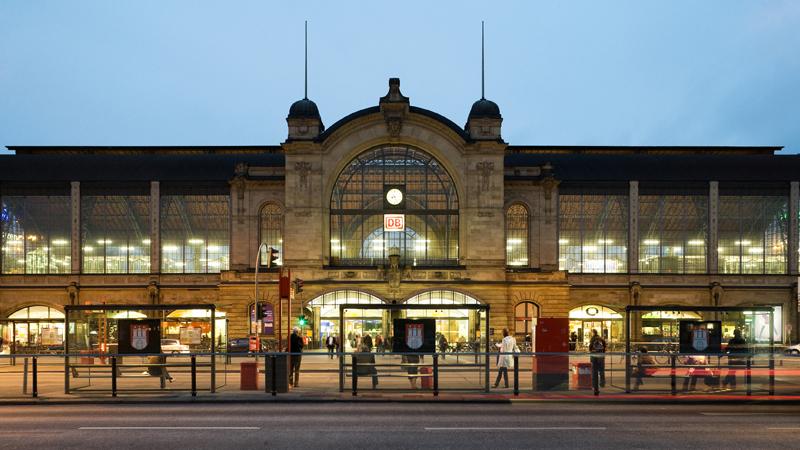 Der Bahnhof Hamburg Dammtor