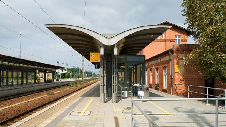 Der Bahnhof Lübben