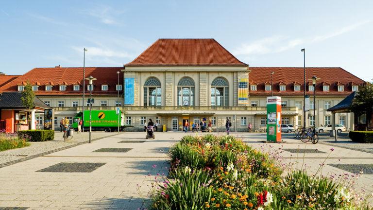 Der Bahnhof Weimar ist Bahnhof des Jahres 2005