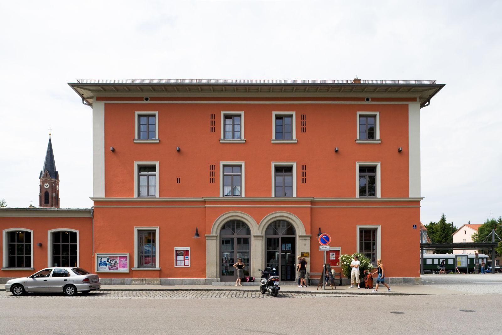 Der Bahnhof Landsberg am Lech