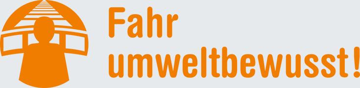 """Logo Projekt Allianz pro Schiene """"Fahr umweltbewusst!"""""""