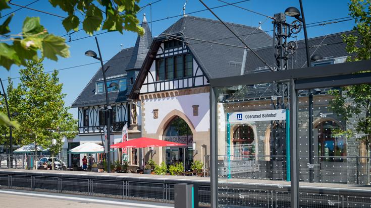 Ausgezeichnet als Bahnhof des Jahres 2013: Der Bahnhof Oberursel in Hessen