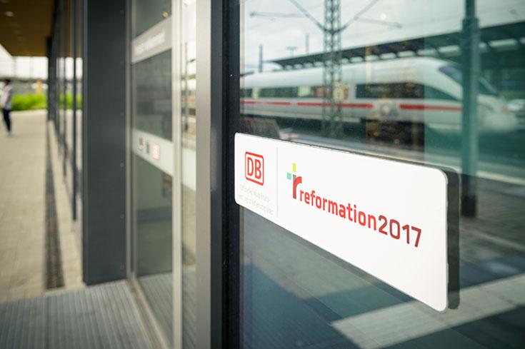 Der Bahnhof Lutherstadt Wittenberg ist Bahnhof des Jahres 2017.
