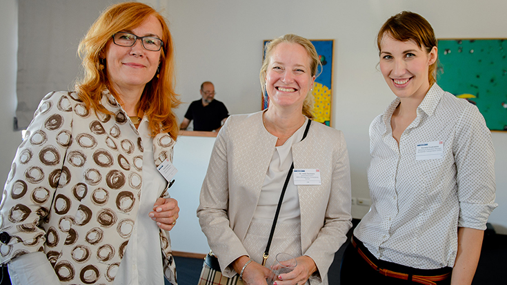 Ladies Brunch der Allianz pro Schiene.
