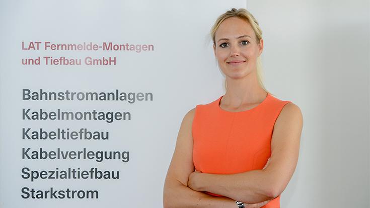 Larissa Zeichhardt im Interview mit der Allianz pro Schiene.