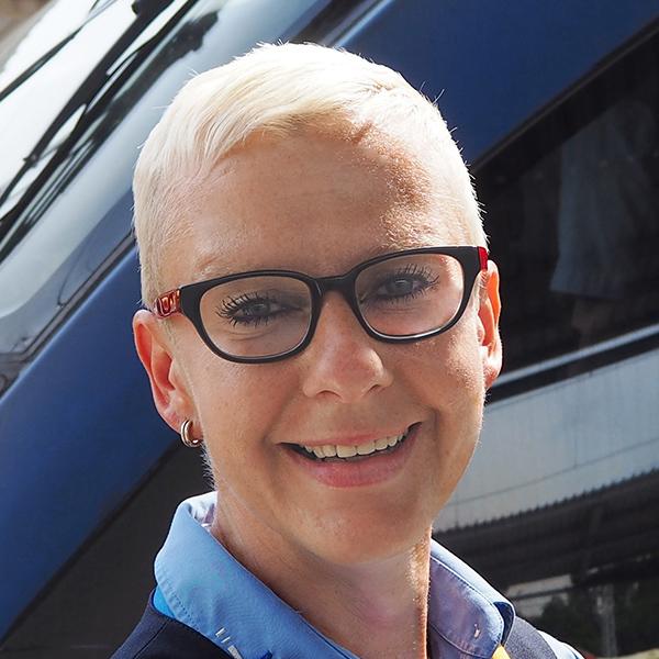 Jeanette Korwitz ist nominiert für Eisenbahner mit Herz 2018