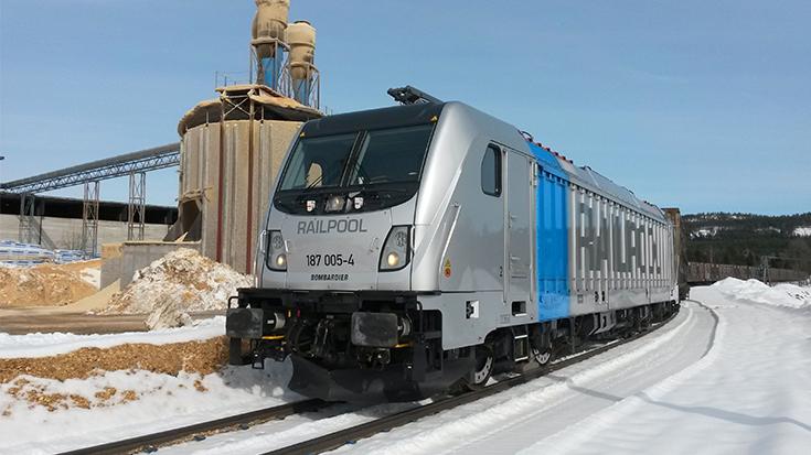 Last-Mile-Lokomotive Bombardier