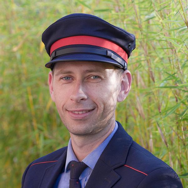 Eric Grunfelder ist nominiert für Eisenbahner mit Herz 2018