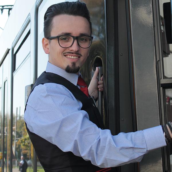 Florian Herpel ist nominiert für den Wettbewerb Eisenbahner mit Herz