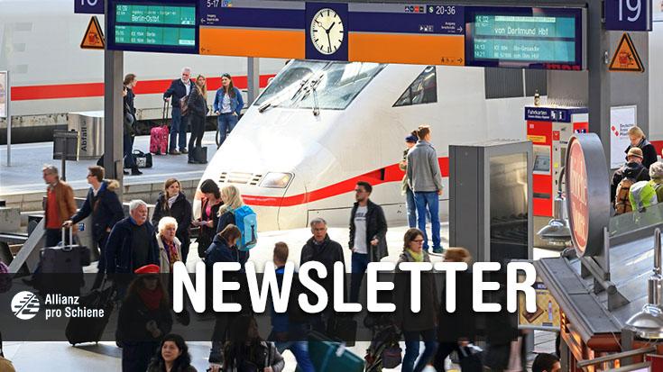 Dezember-Newsletter der Allianz pro Schiene