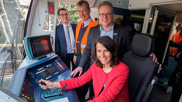 Fahrerassistenzsysteme im Bahnverkehr - Dirk Flege und Rita Schwarzelühr-Sutter