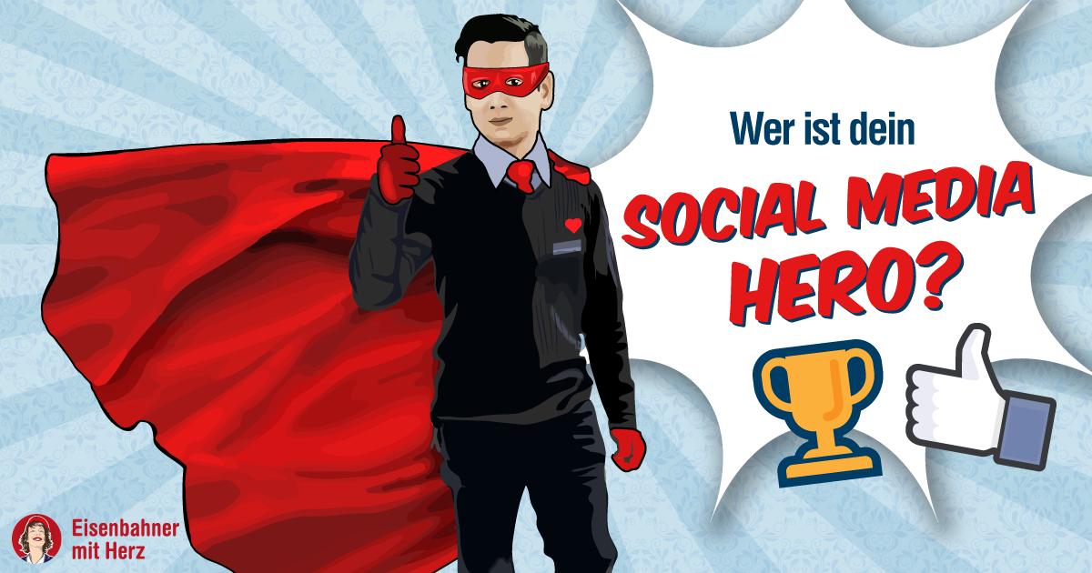 Social Media Hero - Eisenbahner mit Herz, Allianz pro Schiene