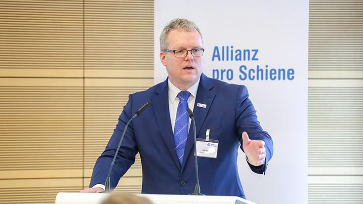 Dirk Flege (Allianz pro Schiene):