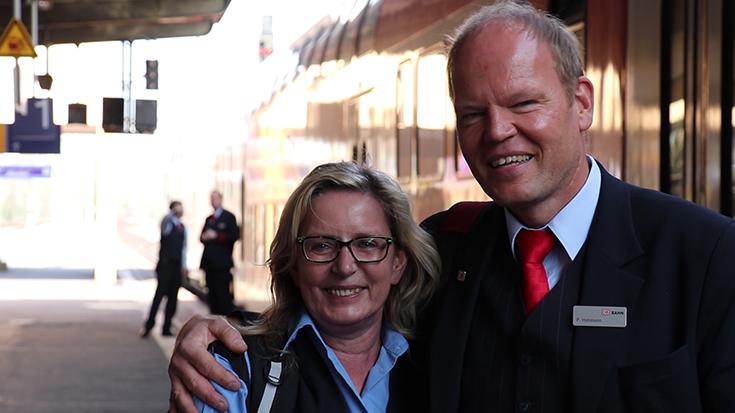 Peter Hohmann ist Eisenbahner mit Herz 2018.