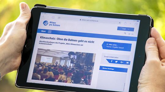 Allianz pro Schiene Aktuell