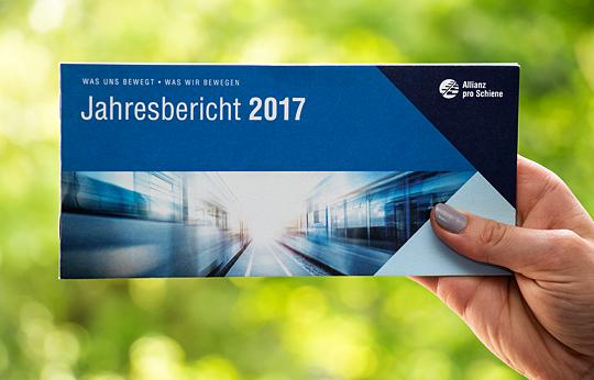 Allianz pro Schiene Jahresbericht