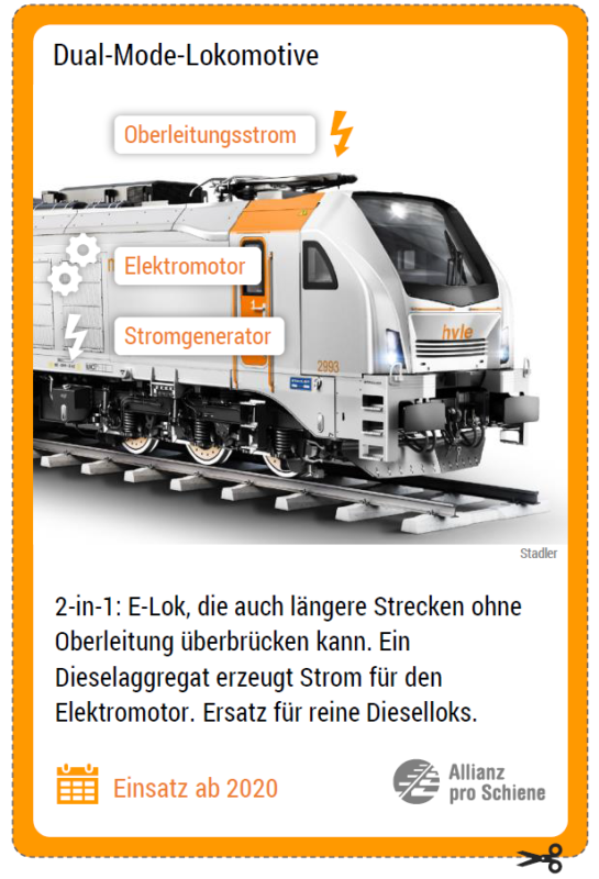 Innovative Antriebe auf der Schiene: Dual-Mode-Lokomotive