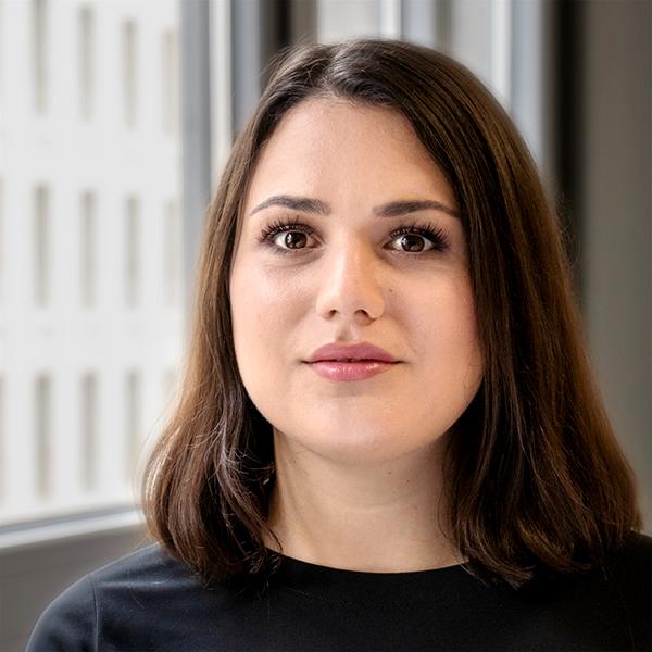 Isabel Vollmer, Projektassistentin bei der Allianz pro Schiene