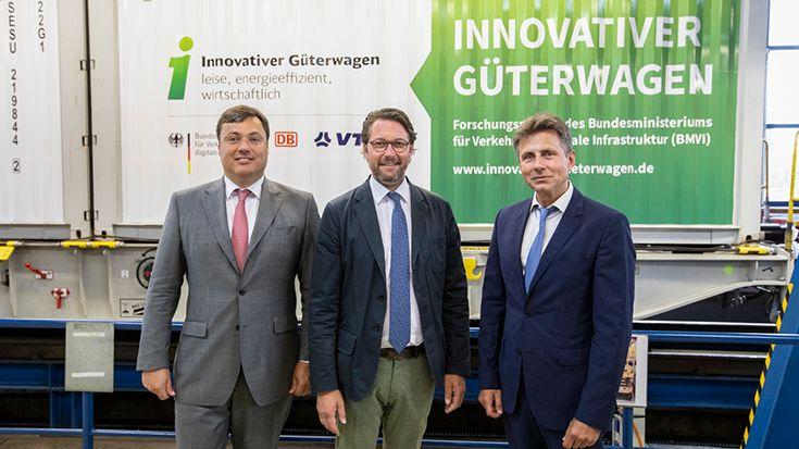 Scheuer - Innovative Güterwagen: So wird der Schienengüterverkehr wettbewerbsfähig gemacht