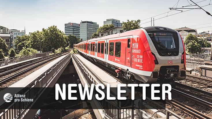 Newsletter Allianz pro Schiene August 2018