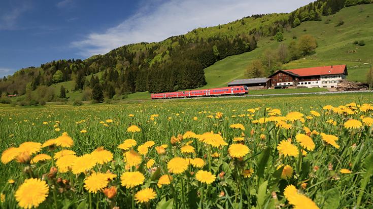 Umwelt und Verkehr: Mit der Bahn am klimafreundlichsten unterwegs
