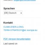 Klimaschutzstrategie EU Frage und Antwortmöglichkeiten